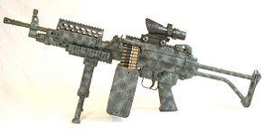 Пулемет mga mk 46sa mod 1 с